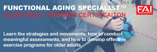 Functional Aging Specialist Certification
